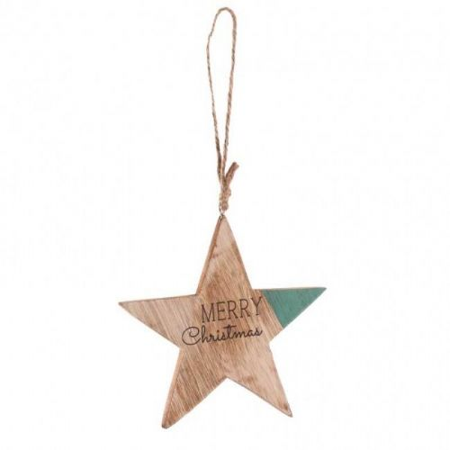 'Merry Christmas' Hanging Star